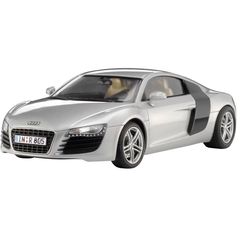 revell 07398 audi r8 automodell bausatz 1 24 im conrad. Black Bedroom Furniture Sets. Home Design Ideas