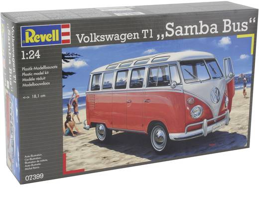 revell 07399 vw t1 samba bus automodell bausatz 1 24 kaufen. Black Bedroom Furniture Sets. Home Design Ideas