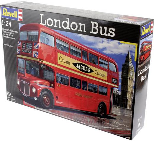 revell 07651 london bus bus bausatz 1 24 kaufen. Black Bedroom Furniture Sets. Home Design Ideas