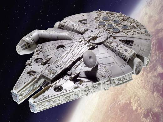 revell 06658 star wars millenium falcon raumfahrtmodell bausatz kaufen. Black Bedroom Furniture Sets. Home Design Ideas
