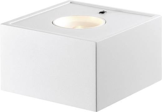 LED-Wandleuchte 2.5 W Warm-Weiß Sygonix Salino 33097C Weiß