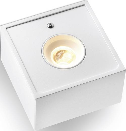 LED-Wandleuchte 2.5 W Warm-Weiß Sygonix Salino Weiß