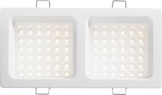 LED-Einbauleuchte 18 W Warm-Weiß DD-20720 Weiß