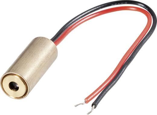 Lasermodul Punkt Blau 5 mW Conrad Components LM05BUD