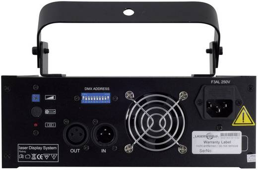 DMX Laser-Lichteffekt Laserworld EL-200RGY