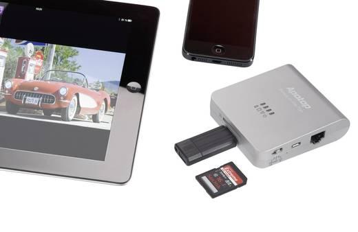 Apotop Wi-Reader Pro Mobiler SD/USB WiFi Datenleser für iOS (ab iOS 5.0) und Android-Geräte