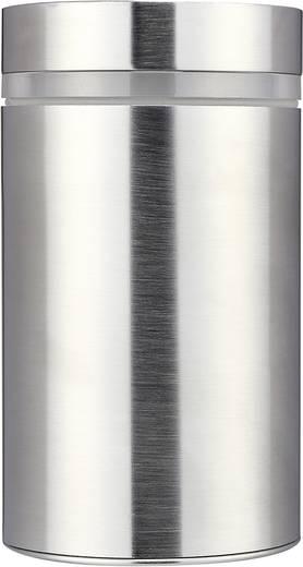 Außenwandleuchte Halogen GU10 11 W Basetech Parla ESL-4437 Silber