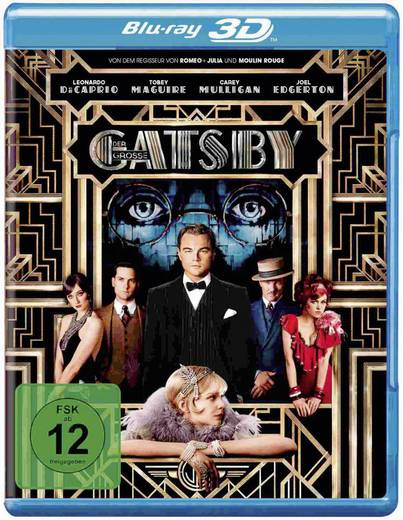blu-ray 3D Der große Gatsby (+ 2D Blu-ray) FSK: 12
