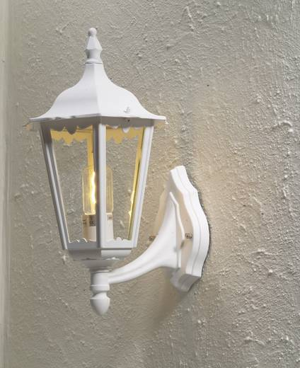 Außenwandleuchte Energiesparlampe, LED E27 100 W Konstsmide Firenze 7213-250 Weiß