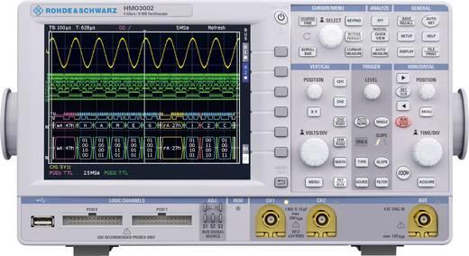 Digital-Oszilloskop Rohde & Schwarz HMO3042 400 MHz 2-Kanal 2 GSa/s 4 Mpts 8 Bit Digital-Speicher (DSO)