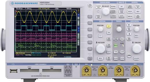 Digital-Oszilloskop Rohde & Schwarz HMO3044 400 MHz 4-Kanal 2 GSa/s 4 Mpts 8 Bit Digital-Speicher (DSO)
