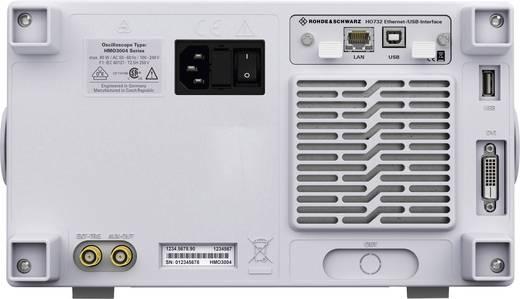 Digital-Oszilloskop Rohde & Schwarz HMO3044 400 MHz 4-Kanal 2 GSa/s 4 Mpts 8 Bit Kalibriert nach ISO Digital-Speicher (D