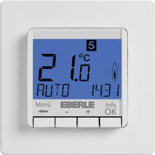 eberle fit 3r raumthermostat unterputz wochenprogramm 5. Black Bedroom Furniture Sets. Home Design Ideas