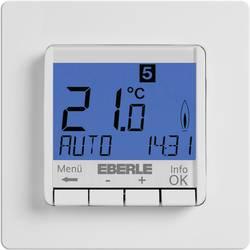 Programovateľný termostat s LCD pod omietku Eberle FIT-3R, 5 až 30 °C, biely