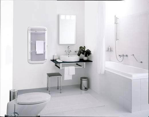 Radialight Acanto 70 weiß Handtuchtrockner 4 m² Weiß, Grau