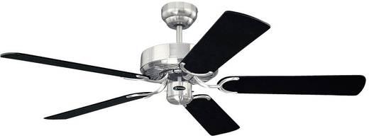 Westinghouse Chrom Cyclone Deckenventilator (Ø) 132 cm Flügelfarbe: Schwarz-Silber Gehäusefarbe: Chrom