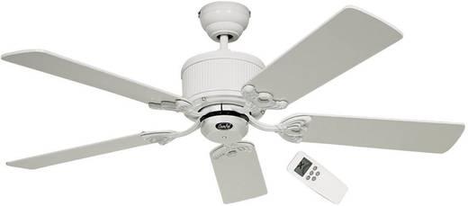 CasaFan Eco Elements Deckenventilator (Ø) 132 cm Flügelfarbe: Weiß, Grau Gehäusefarbe: Lack-Weiß