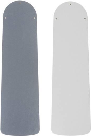 Deckenventilator CasaFan Eco Elements blanc/gris moyen (Ø) 132 cm Flügelfarbe: Weiß, Grau Gehäusefarbe: Lack-Weiß