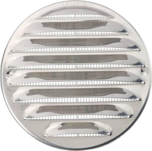 Abluftgitter Edelstahl Passend für Rohr-Durchmesser: 10 cm