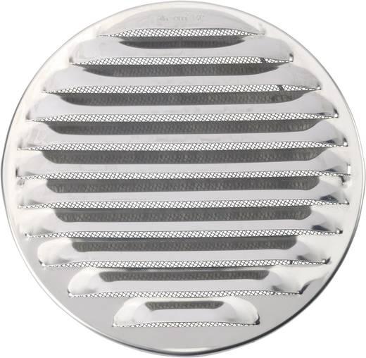 Abluftgitter Edelstahl Passend für Rohr-Durchmesser: 16 cm
