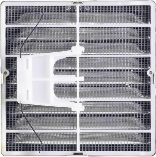 Abluftgitter Edelstahl Passend für Rohr-Durchmesser: 12.5 cm