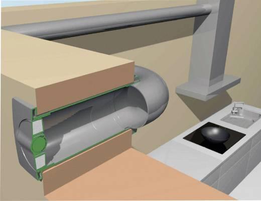 Energiespar-Mauerkasten Kunststoff Passend für Rohr-Durchmesser: 125 mm Wallair N37216