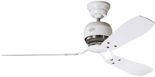Deckenventilator Hunter Industrie WE (Ø) 132 cm Flügelfarbe: Weiß Gehäusefarbe: Weiß