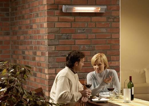 IR-Kurzwellen-Strahler 2000 W 12 m² Silber AEG Haustechnik Premium Plus 2000