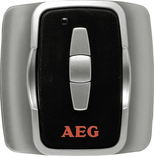 Heizgeräte-Funkfernbedienung AEG Haustechnik 229966 AEG Funkdimmer 2000 Schwarz