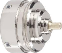 Mosazný adaptér termostatu Danfoss RAVL 700 100 003 vhodný pro topné těleso Danfoss RAVL, 25,5 mm se 4 vroubky
