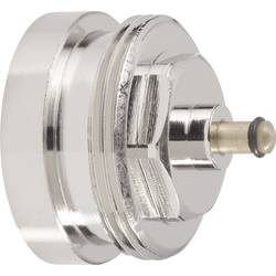 Mosazný adaptér termostatického ventilu Herz 700 100 004 vhodný pro topné těleso Herz, M28 x 1,5