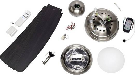 Westinghouse Bendan Deckenventilator EEK: D (A++ - E) (Ø) 132 cm Flügelfarbe: Braun Gehäusefarbe: Aluminium (gebürstet)