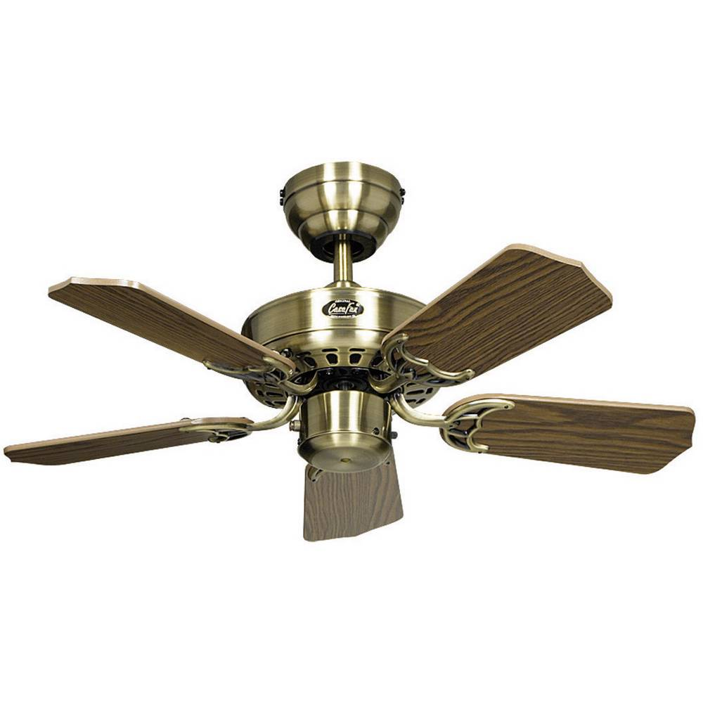 ventilateur de plafond casafan classic royal 75 ma 5 pales 75 cm imitation bois de ch ne. Black Bedroom Furniture Sets. Home Design Ideas
