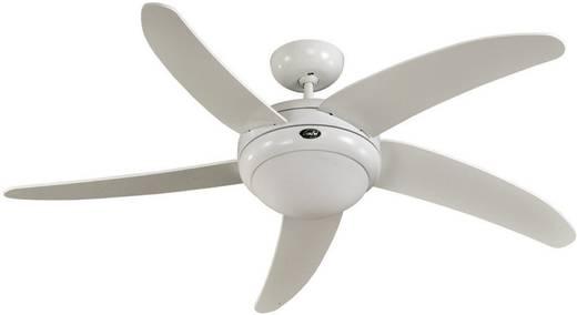 CasaFan Elica WE Deckenventilator (Ø) 132 cm Flügelfarbe: Weiß Gehäusefarbe: Weiß