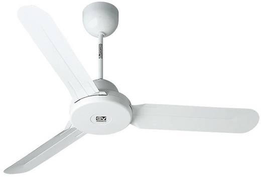 Deckenventilator Vortice Nordik Design 1S 140 WE (Ø) 142 cm Flügelfarbe: Weiß Gehäusefarbe: Weiß