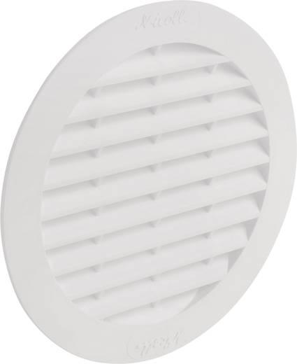 Abluftgitter Kunststoff Passend für Rohr-Durchmesser: 10 cm Wallair N32909