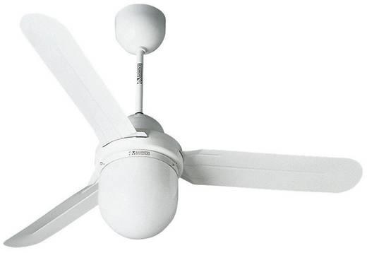 Deckenventilator Vortice Nordik Design 1S/L 90 WE (Ø) 92 cm Flügelfarbe: Weiß Gehäusefarbe: Weiß