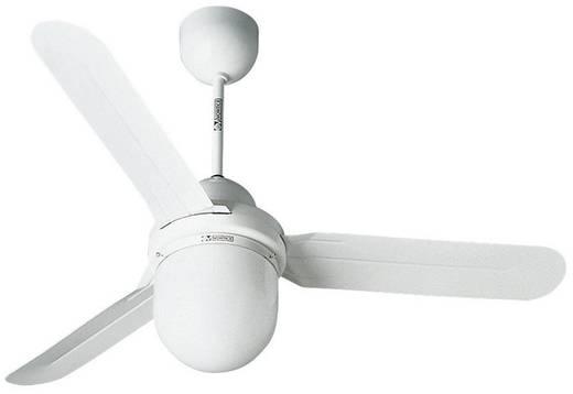 Deckenventilator Vortice Nordik Design 1S/L 120 WE (Ø) 122 cm Flügelfarbe: Weiß Gehäusefarbe: Weiß