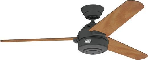 Hunter Carera GR Deckenventilator (Ø) 132 cm Flügelfarbe: Kastanie Gehäusefarbe: Graphit