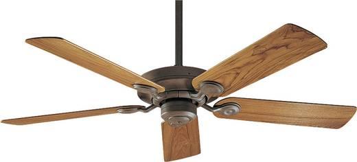 Hunter Outdoor Elements WBOD Deckenventilator (Ø) 132 cm Flügelfarbe: Teakholz Gehäusefarbe: Weathered Brick