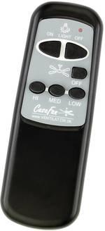 Télécommande pour ventilateur de plafond CasaFan FB-IR Basic SW o. Dimmung ESL noir, blanc