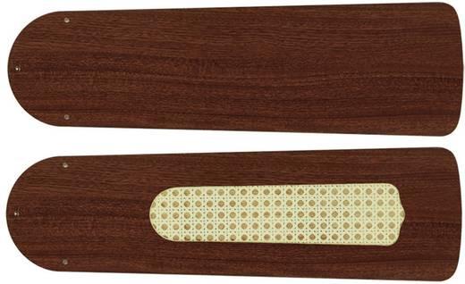 Deckenventilator-Flügelsatz CasaFan Plafondventilator-Bladenset 103 MAHONIE Flügeldekor: Mahagoni