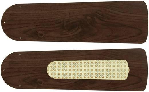Deckenventilator-Flügelsatz CasaFan Plafondventilator-Bladenset 132 NOTEN Flügeldekor: Nussbaum