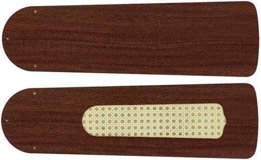 Deckenventilator-Flügelsatz CasaFan Plafondventilator-Bladenset 132 MAHONIE Flügeldekor: Mahagoni