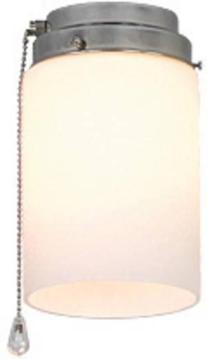 Deckenventilator-Leuchte CasaFan 1Z CH ZYLINDER OFFEN Opalglas (matt)