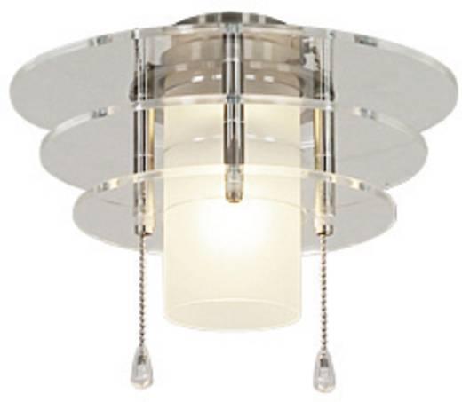Deckenventilator-Leuchte CasaFan 6 BN ACRYLSCHEIBEN Acrylglas matt