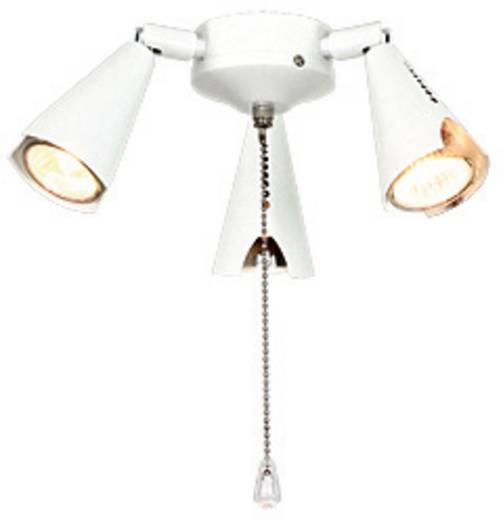 Deckenventilator-Leuchte CasaFan 5-II WE 3 STRAHLER