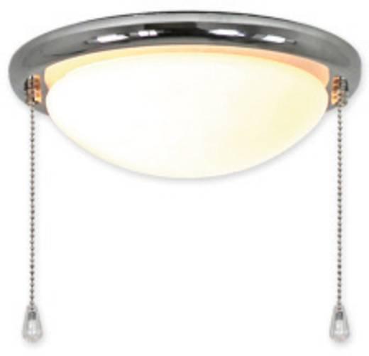 Deckenventilator-Leuchte CasaFan 15R CH FLACHE SCHALE Opalglas (matt)