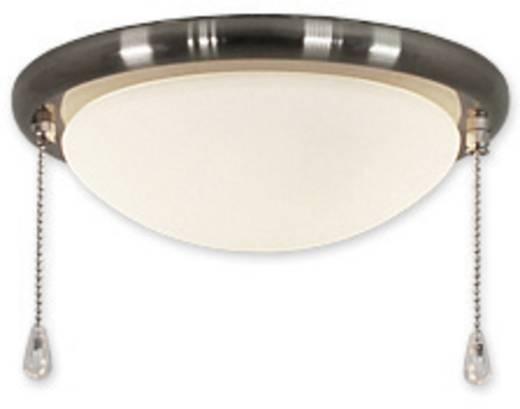 Deckenventilator-Leuchte CasaFan 15R BN FLACHE SCHALE Opalglas (matt)
