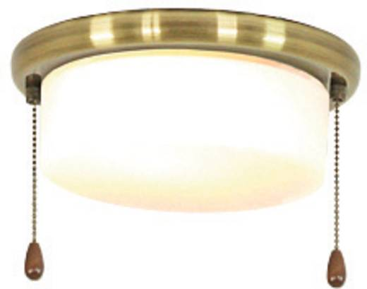 Deckenventilator-Leuchte CasaFan 15Z MA FLACHER ZYLINDER Opalglas (matt)
